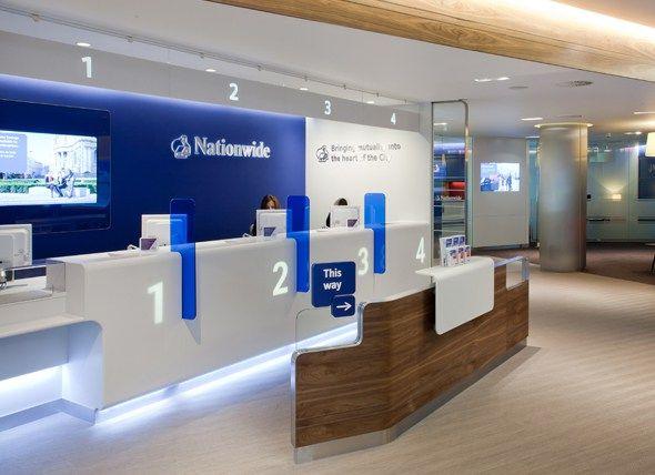 bank interior design plan